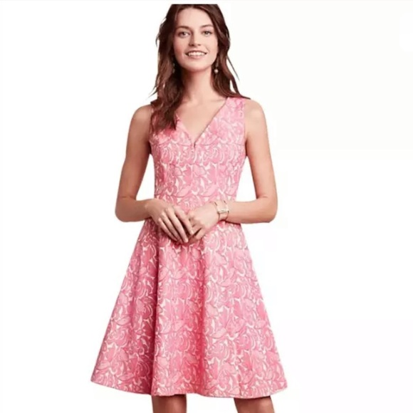 484b4aae98ac1 Anthropologie Dresses & Skirts - Anthropologie Maeve Claribel Floral Dress  in Pink